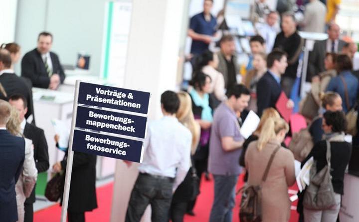 Stadt Meppen auf der Jobmesse Emsland Foto: Barlag