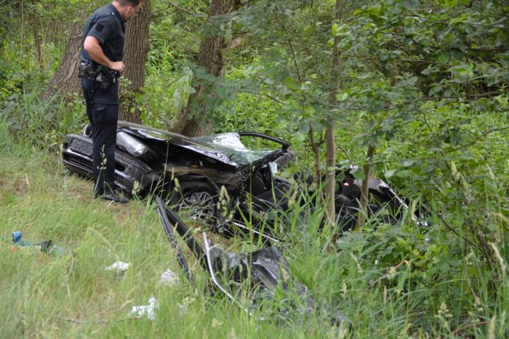 Geeste - Osterbrock: Schwerer Verkehrsunfall auf der B 70 zwischen Schleuse Varloh und Abfahrt Geeste - Foto: NordNews.de