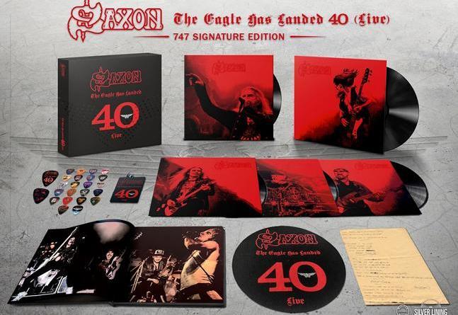 Saxon feiert vier unglaubliche Metal-Jahrzehnte - 'The Eagle Has Landed 40 (Live)'/ VÖ 02. August