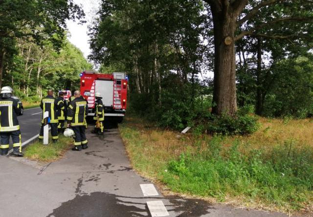 Kleinbrand an der Bawinkeler Straße - Foto: NordNews.de