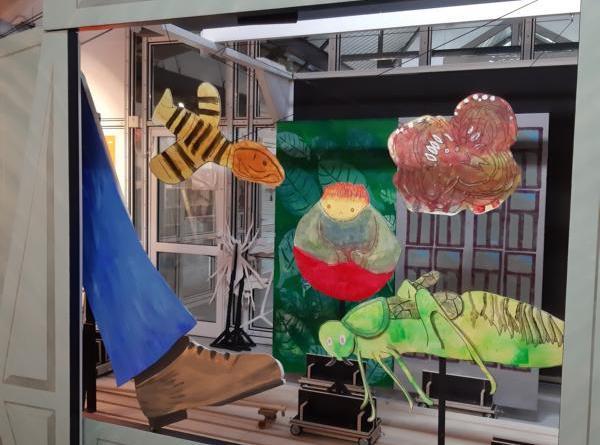 In den nächsten Tagen zeigt die Kunstschule Zinnober zusammen mit der Musikschule des Emslandes ein Insektenmusical. Foto: Stadt Papenburg
