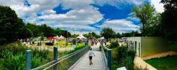 Rund 20.000 Besucher kamen am letzten Veranstaltungstag der Blumenschau 2019 im Stadtpark noch einmal und katapultierten so die Gesamtzahl der Gäste auf über 100.000 in der Zeit vom 17. Juli bis 4. August. Foto: Stadt Papenburg