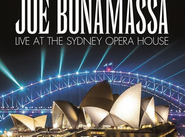 """Joe Bonamassa kündigt Veröffentlichung eines weiteren Konzertmitschnitts an - """"Live at the Sydney Opera House"""" erscheint 25. Oktober 2019"""