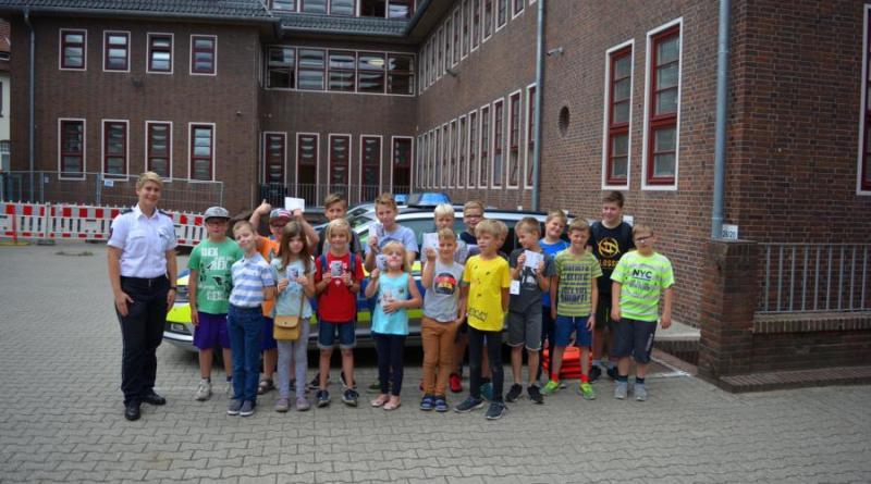 Besuch des Polizeikommissariats Meppen - Foto: Jacqueline Woller