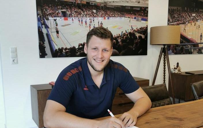 Dominik Kalafut verstärkt die HSG Nordhorn-Lingen - Dritte Neuverpflichtung neben Robert Weber und Anton Prakapenia für die Saison 2019/2020 - Foto: HSG