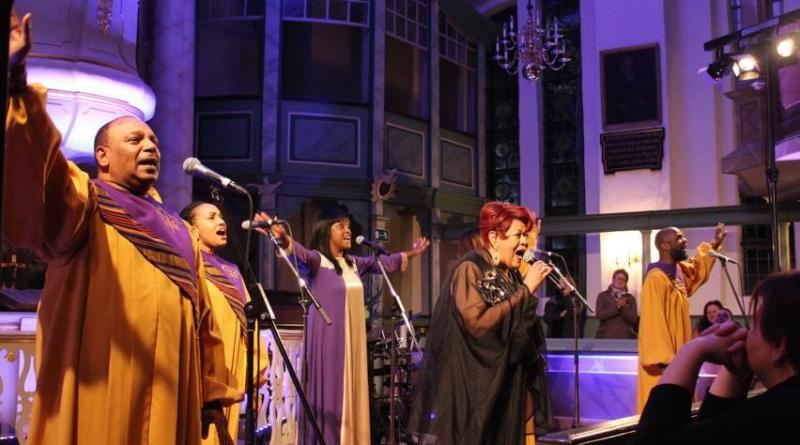 Die BLACK GOSPEL ANGELS singen auch 2020 wieder in Deutschland. Fotocredit: Ann-Christin Beims/Rotenburger Rundschau