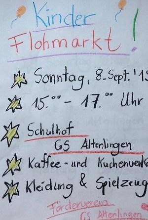 Kinderflohmarkt in Altenlingen - Foto: Alexa Storm