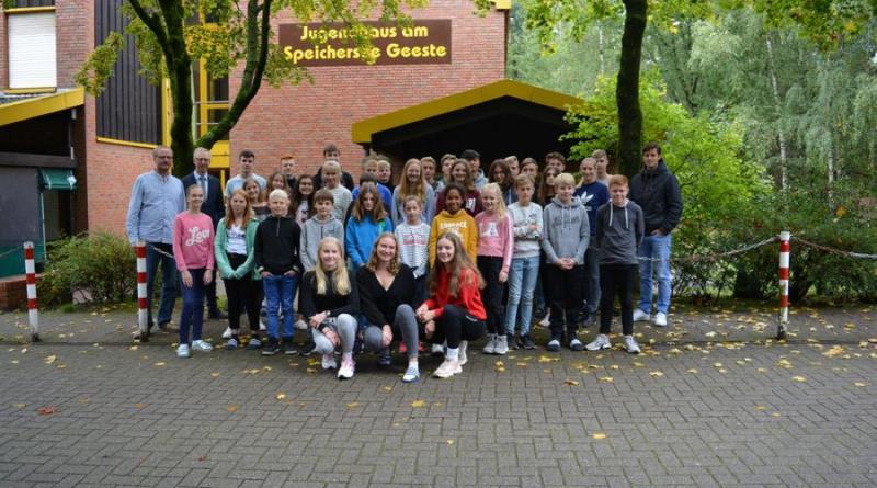 Gymnasium besucht zum 25. Mal das Jugendhaus am Speichersee Geeste - Foto:Gemeinde Geeste