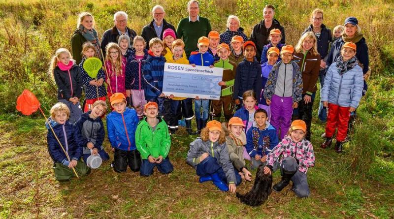 Wert der Umwelt nahebringen - Naturschutzstiftung Landkreis Emsland und ROSEN Gruppe arbeiten zusammen - Foto: Landkreis Emsland