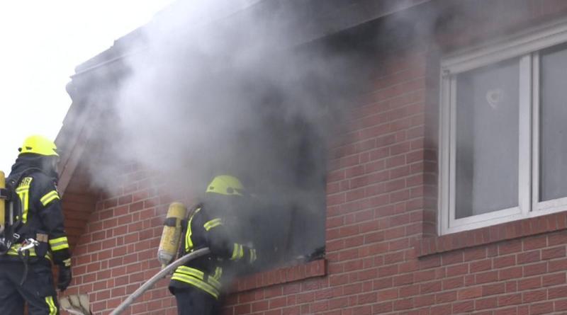 Schöninghsdorf - Zimmerbrand in der Pappelallee - Foto: NordNews.de