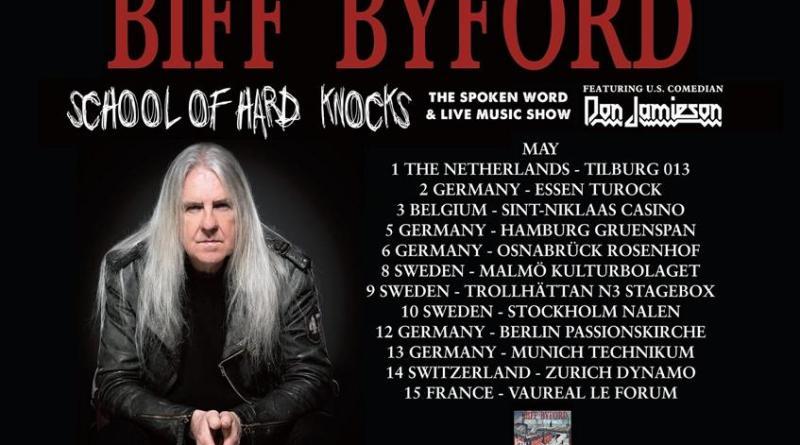 Biff Byford - Der legendäre Saxon Frontmann veröffentlicht sein erstes Solo Album SCHOOL OF HARD KNOCKS