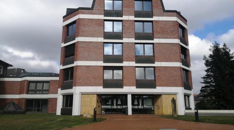Kreishaus Nordhorn Kreis Grafschaft Bentheim van Delden Straße Foto: NordNews