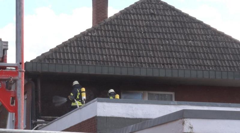 Lingen Aktuell - Feuerwehreinsatz am Akazienweg - Foto: NordNews.de