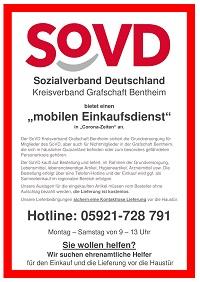 Sozialverband bietet mobilen Einkaufsdienst an - Foto: SoVD Kreisverband Emsland