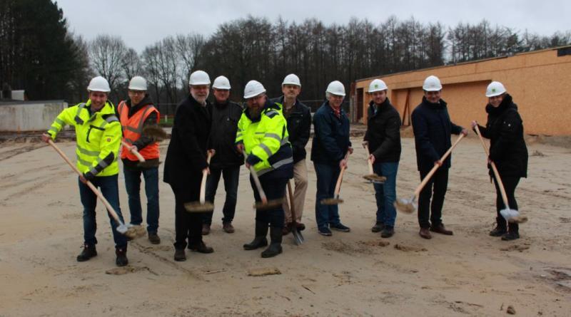 Neubau des Aktivtreff Herbrum planmäßig gestartet - Foto: Stadt Papenburg