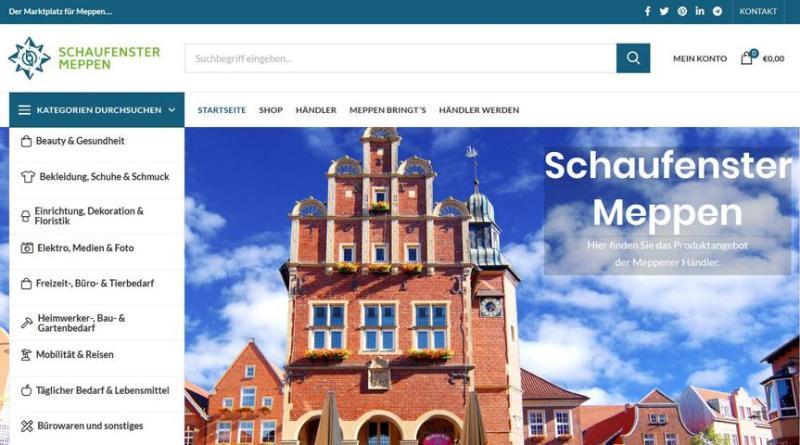 Meppen lädt zum digitalen Schaufenster-Bummel. Foto: Stadt Meppen