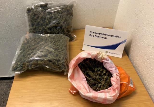 Bad Bentheim: Drogenschmuggel: Pärchen nach grenzüberschreitender Flucht festgenommen - Foto: Bundespolizei