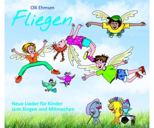 """""""FLIEGEN"""" – Das neue Album von Kindermusiker Olli Ehmsen"""