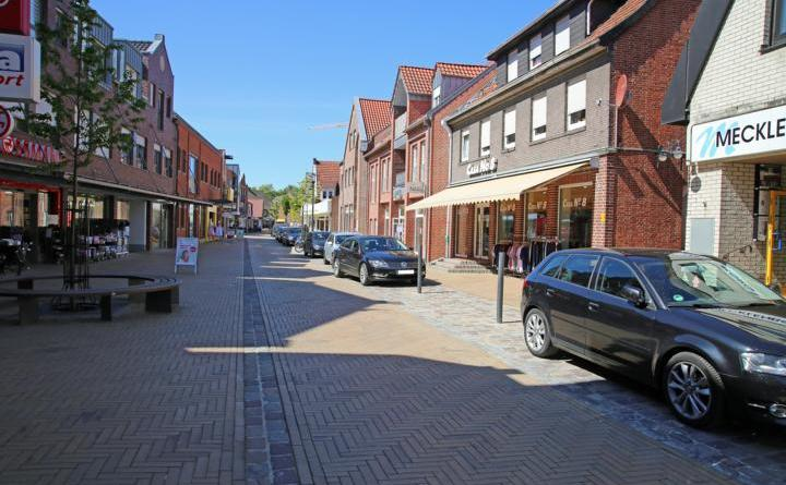Ab Montag wird die Lange Straße in Haren in der Innenstadt teilweise zur Fußgängerzone. Foto: Stadt Haren (Ems)