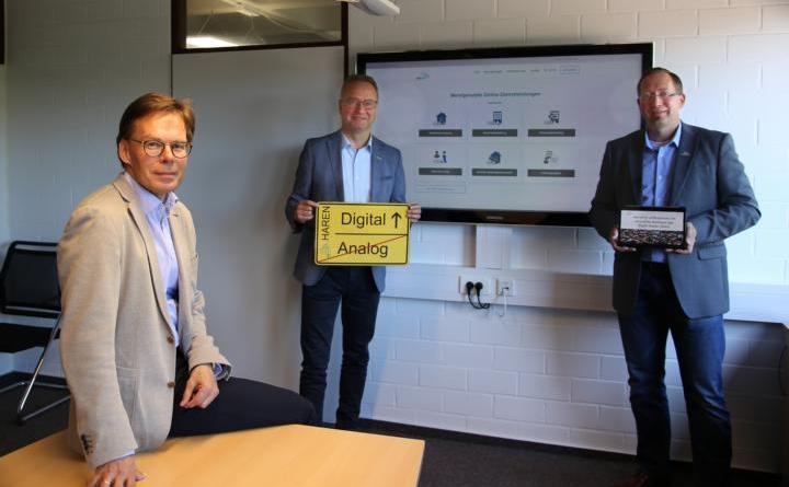 Haren wird digital – Viele Leistungen der Stadtverwaltung können nun digital angefordert werden. Foto: Stadt Haren (Ems)