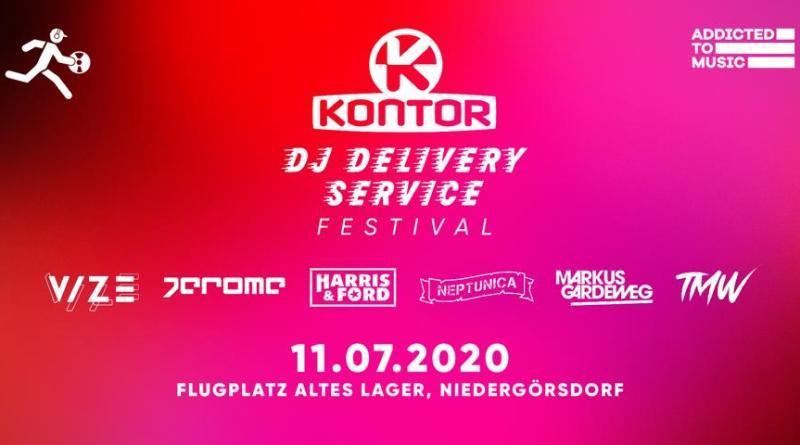 Das erste elektronische Live-Event vor Publikum - Kontor DJ Delivery Service wird zum Festival