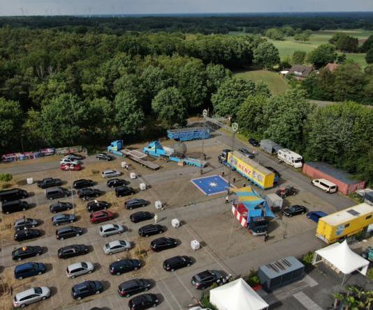 Circus Renz begeistert am ZAK Uelsen - Foto: NordNews.de