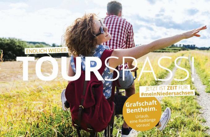 Tourismus Image-Kampagne mit Grafschafter Tourspaß - Foto: TMN