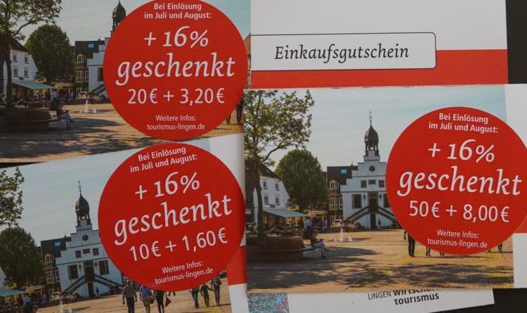 """raumstart für """"Lingener Einkaufssommer"""" - Umsatz von über 220.000 Euro in der ersten Woche"""