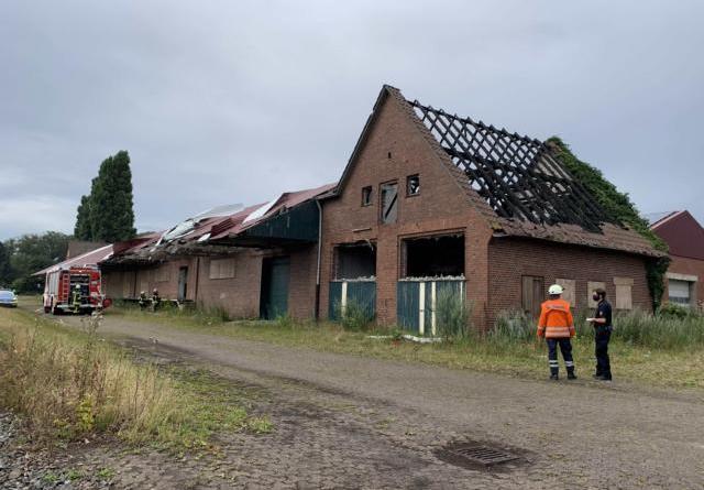 Zahlreiche Brände musste die Feuerwehr Sögel bereits in dem alten Bahnhofsgebäude löschen. Fotos: SG Sögel/Feuerwehr