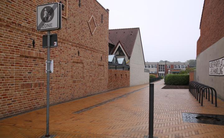 Den Durchgang zwischen der Bischoff-Demann-Straße und der Langen Straße in Haren (Ems) wurde erneuert. Foto: Stadt Haren (Ems)
