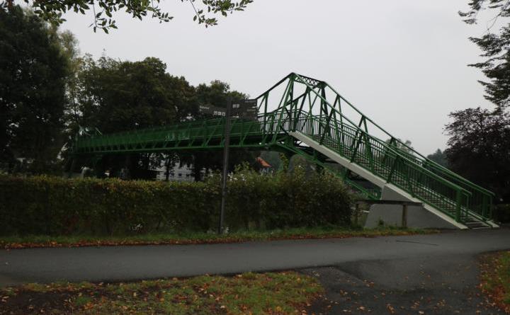 Freigabe der Fußgängerbrücke an der Schülerwiese - Foto: Stadt Meppen
