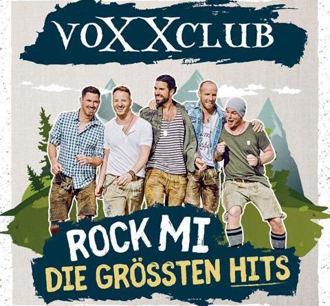 """voXXclub veröffentlichen am 18.09. ihr erstes Best Of Album """"Rock Mi - Die größten Hits"""""""