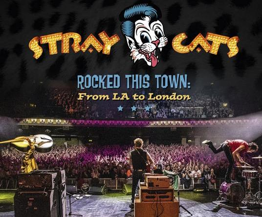 THE STRAY CATS - Video Premiere 'Three Time's A Charm' - aus dem aktuellen LIVE ALBUM 'ROCKED THIS TOWN: FROM LA TO LONDON'