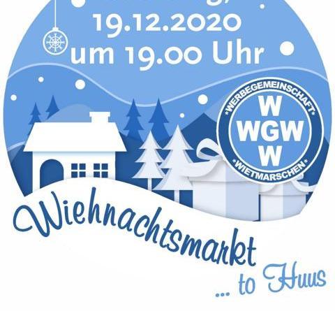 """""""1. Wiehnachtsmarkt to Huus"""" in WietmarschenFoto: Wirtschaft Innovation Nordwest"""