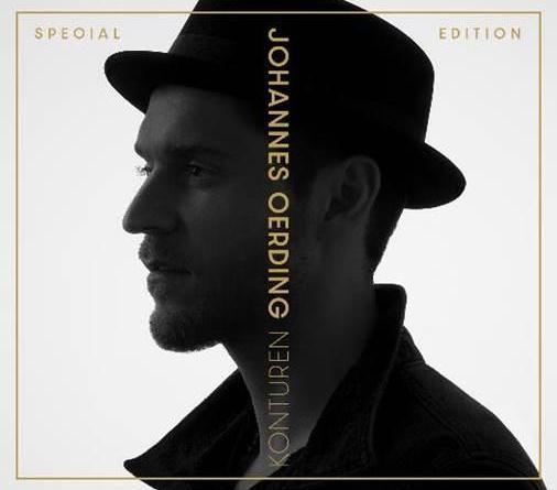 """Johannes Oerding veröffentlicht Special Edition seines Erfolgalbums """"Konturen"""""""