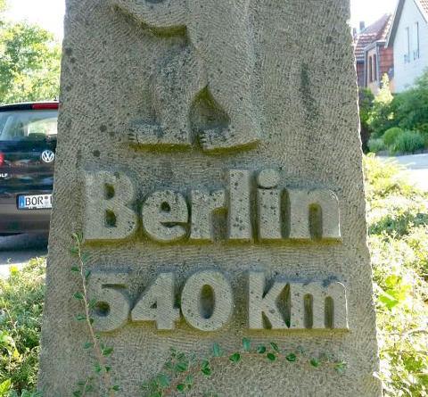 """Informationen zu """"Berliner Bären-Stein"""" gesucht - Foto: Stadt Nordhorn"""