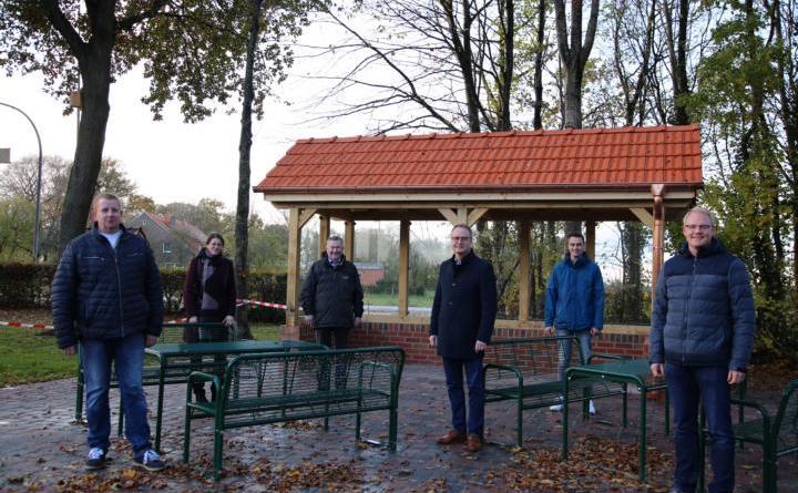 """Stadt fördert Dorfentwicklung im """"Kirchspiel Rütenbrock"""" - Schützenhaus Lindloh erhält neue Sanitäranlagen und neues Umfeld - Foto: Stadt Haren (Ems)"""