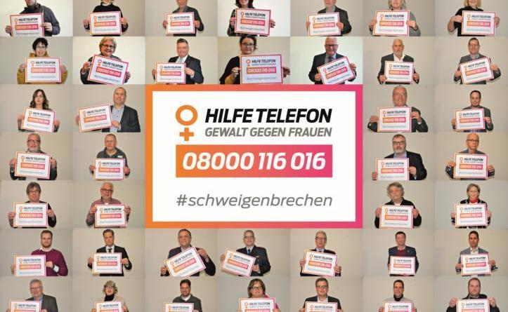 """Aktionen gegen Gewalt an Frauen - Gleichstellungsbeauftragte fordert: """"Das Schweigen brechen!"""" - Foto: Stadt Nordhorn"""
