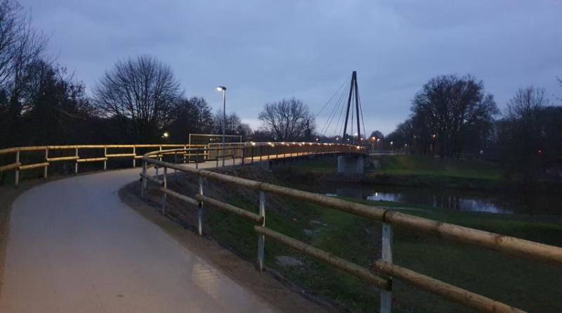 Brücke über die Hase freigegeben