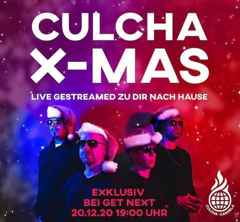 """CULCHA CANDELA """"Culcha X-MAS"""" Konzert am 20.12.20"""
