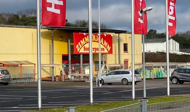 Zimmermann Nordhorn schließt vorübergehend - Foto: NordNews.de