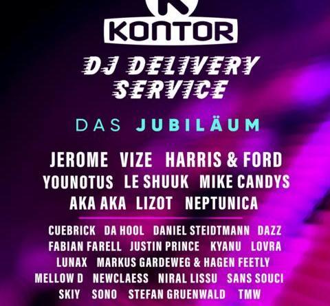 Ein Jahr Kontor DJ Delivery Service - 75 Mio. Impressions – 12 Mio. Views – 100.000 Stunden Livestream