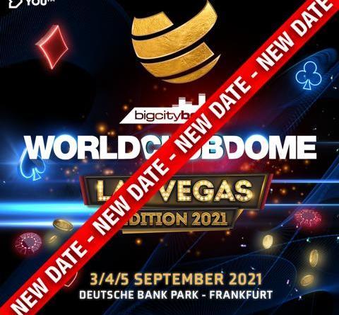 Verschiebung BigCityBeats WORLD CLUB DOME Las Vegas Edition
