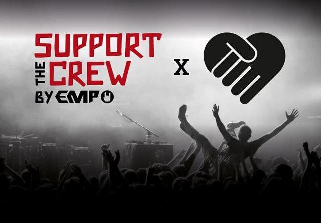 """""""Support the Crew"""": EMP startet Soli-Aktion für die Szene mit #handforahand"""