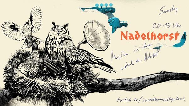 NADELHORST - Die neuartige Live Show nur auf Twitch von und mit Alligatoah