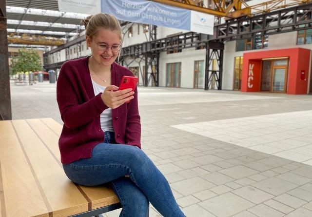 Neuer Instagram-Auftritt - Campus Lingen präsentiert eigenen Kanal. Foto: Dekanat MKT - Miriam Kronen