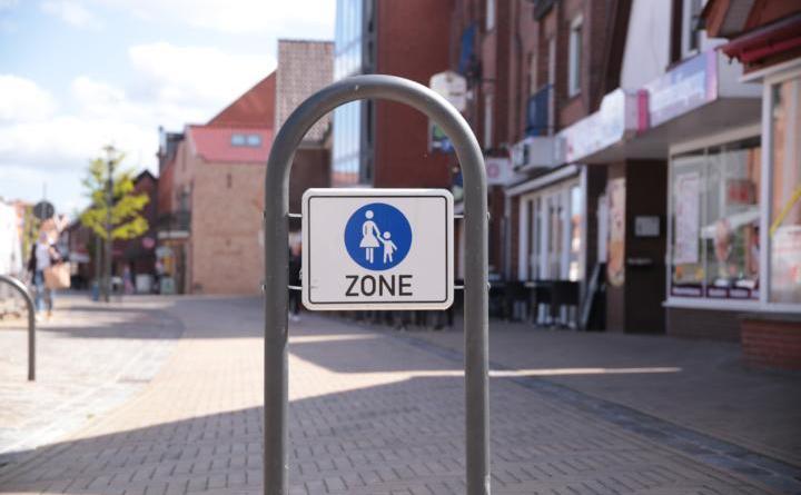 Ab Montag, den 7. Juni ist die Lange Straße in Harens Innenstadt für Autofahrer teilweise tabu. Foto: Stadt Haren (Ems).