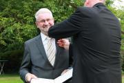 Verleihung Bundesverdienstkreuz an Alfons Eling - Foto: Gemeinde Wietmarschen