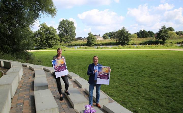 Machen Werbung für die letzten freien Plätze beim Open Air Kino. Foto: Stadt Haren (Ems).