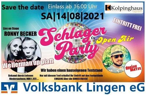 Vierte Lingener-Schlager-Party startet am Samstag